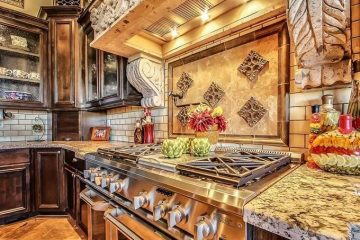 Cucina in stile toscano, procedimento da seguire, accessori e decorazioni